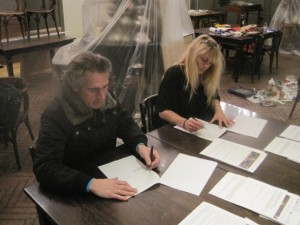 DV Midwolde Ondertekening kontrakt