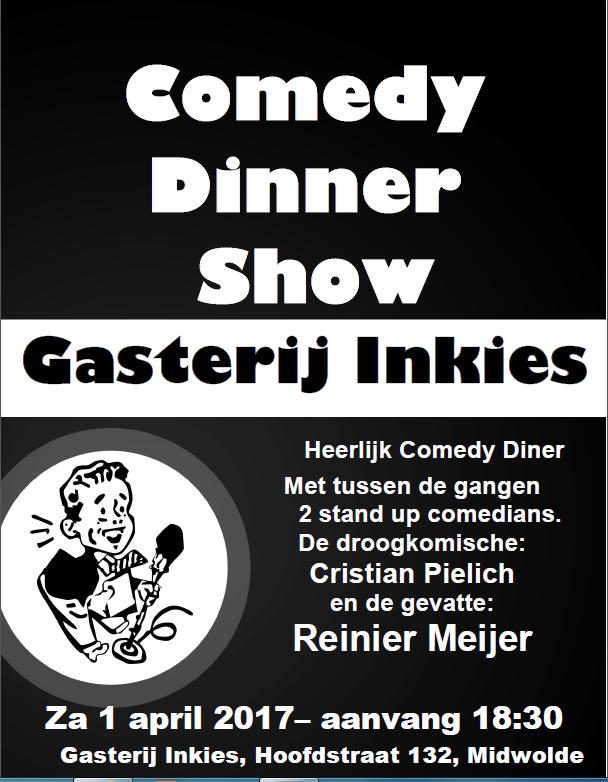 Gasterij Inkies Comedy Diner