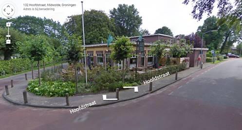 Gasterij het Theehuis Hoofdstraat 132 te Midwolde